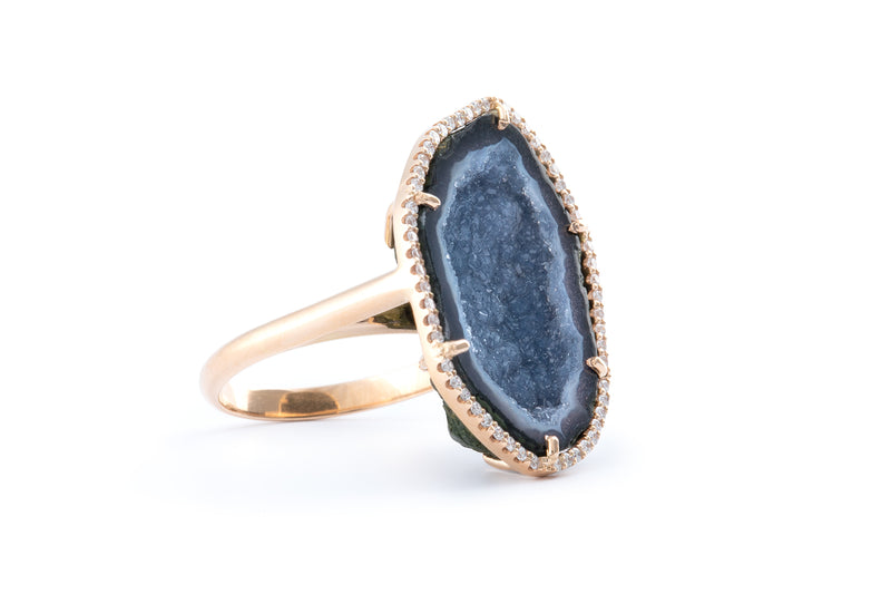 ROCKY ring, blue/black