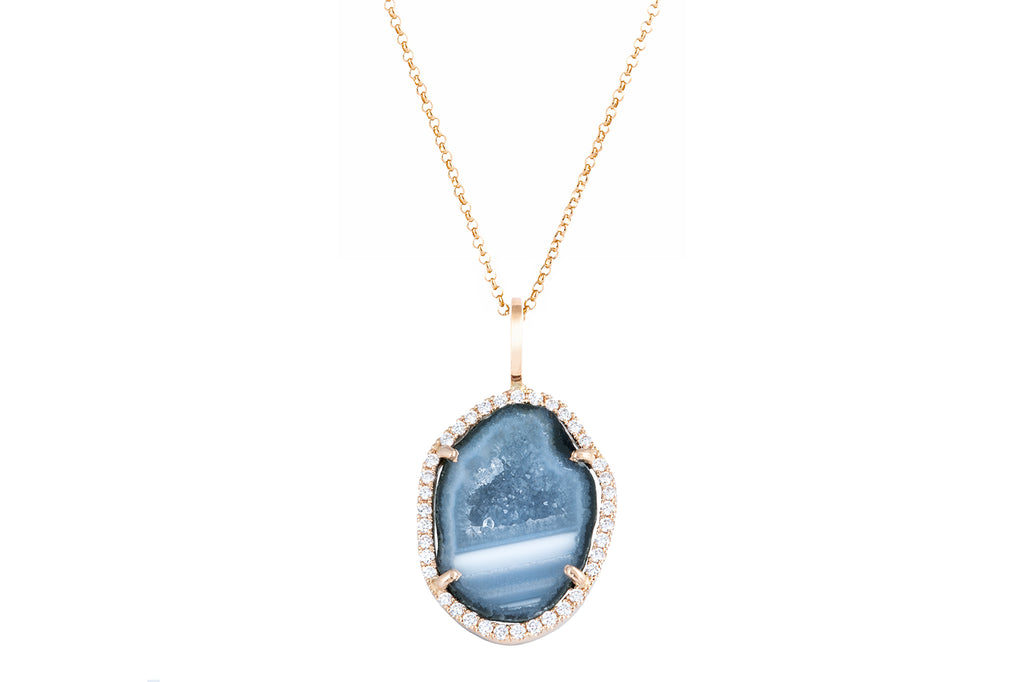 LOUISE pendant, blue