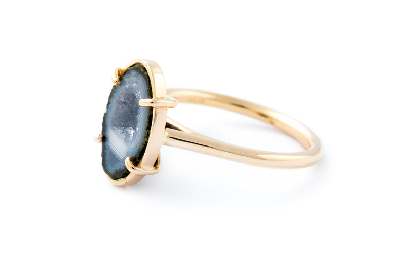 LEMONY ring, blue