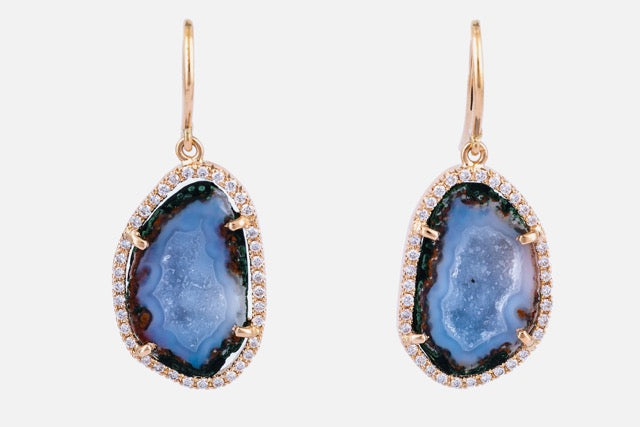 ALISON earrings, blue