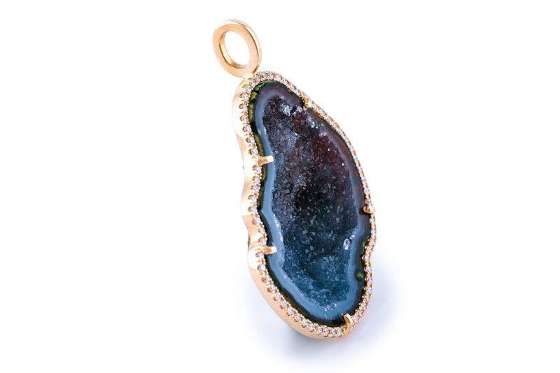 LOUISE pendant, large dark blue