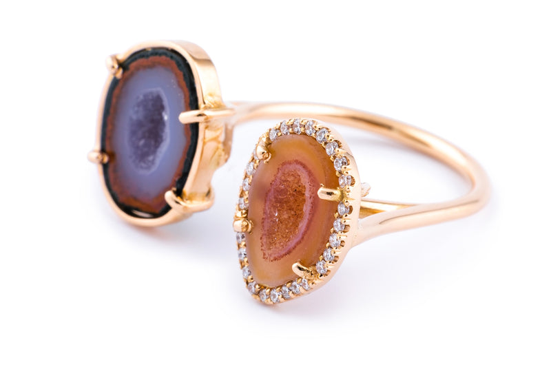 ALIX ring, Purple/orange