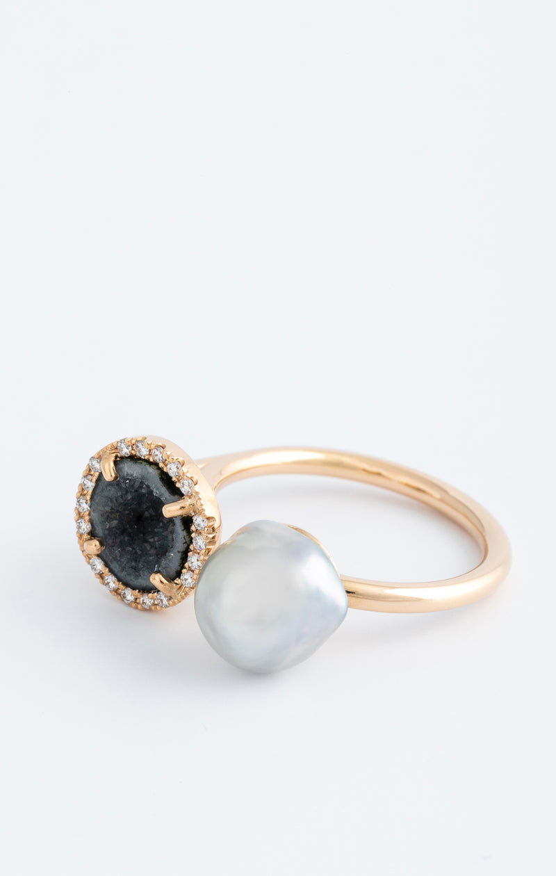 GAIA ring, blue