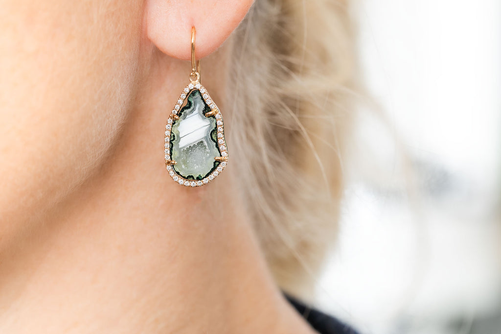 ALISON Earrings, Green