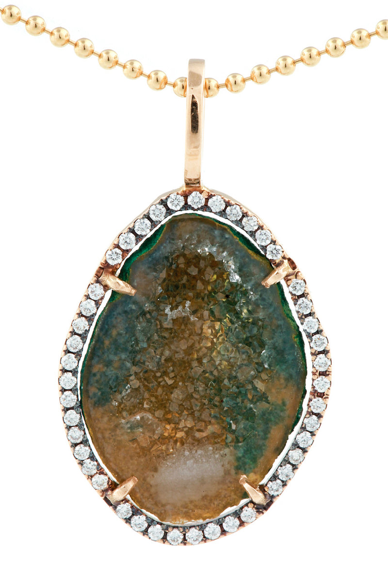 LOUISE pendant, green