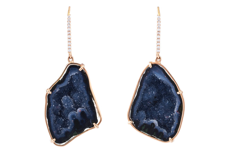 Earrings Janelle Dark Blue