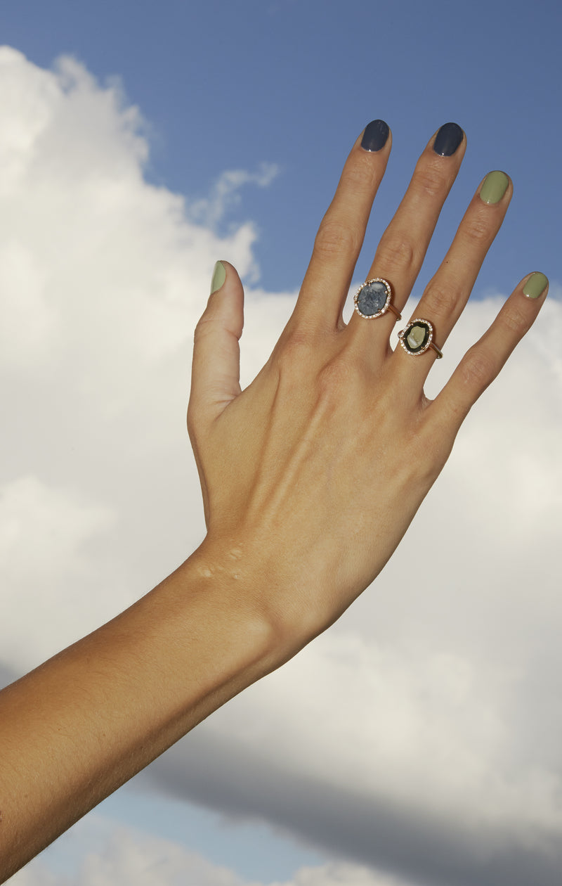 ROCKY ring, green/black