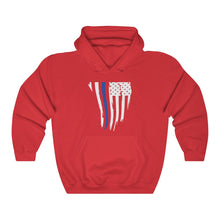 Load image into Gallery viewer, Thin Blue Line Hoodie