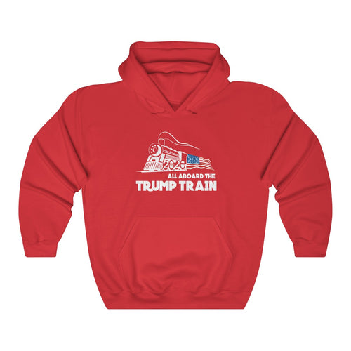 All Aboard The Trump Train Sweatshirt