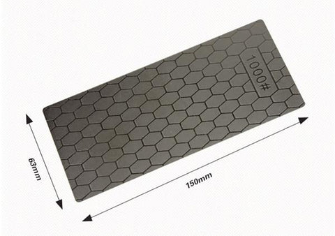 Portable Ultra-Thin Diamond Knife Sharpener | 150*63*1mm | Honeycomb Sharpening Stone | Surface Whetstone | Kitchen Grinding Tool