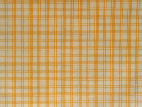 Twill check light yellow
