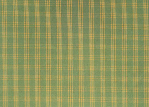 Cranston Plaid Check grün-gelb