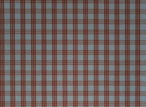Cranston Plaid Check rot-blau