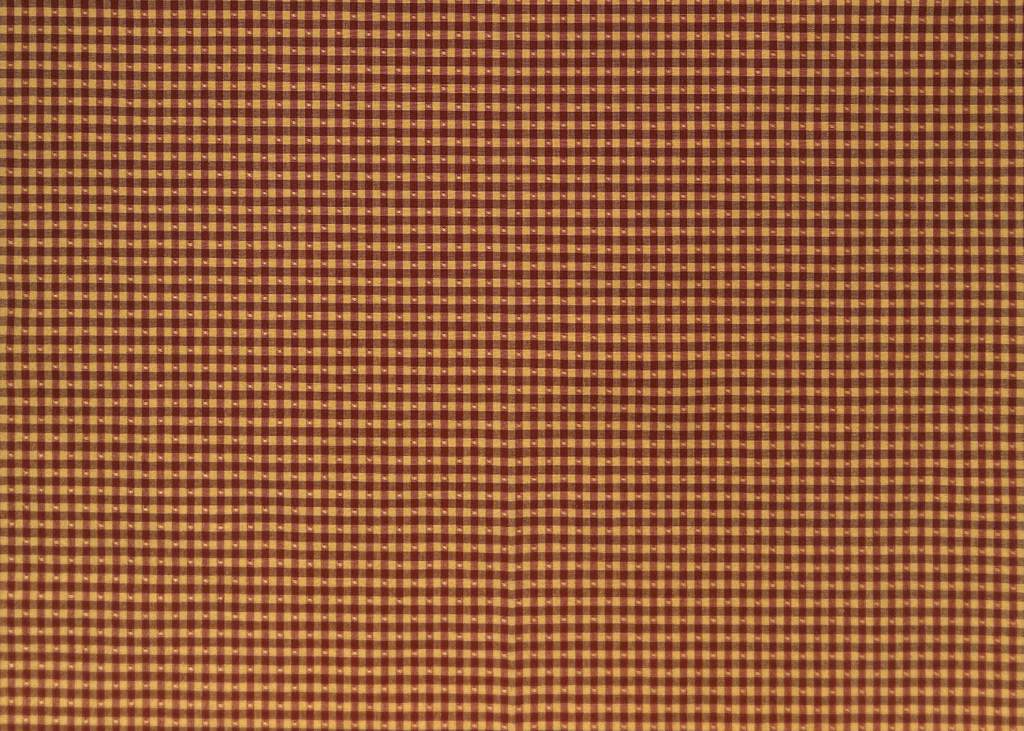 Linley Gingham gold red