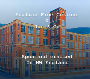 Joe & Co x English Fine Cottons