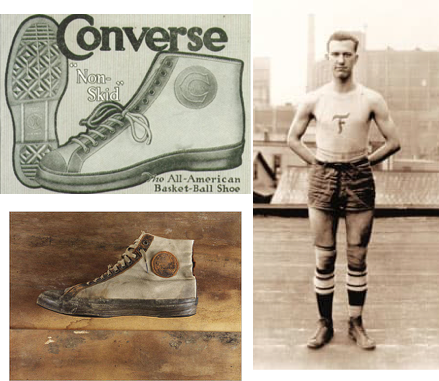 Blog image of original Converse All-Stars and Chuck Taylor