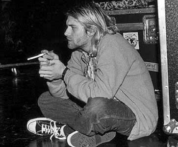 Blog Image of Curt Cobain wearing Converse All Stars