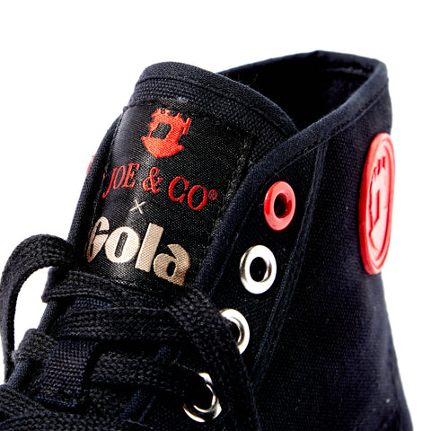 Blog image of Joe & Co High Top trainers
