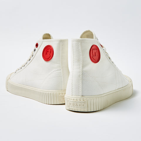Blog image of Joe & Co x Gola High Top trainer