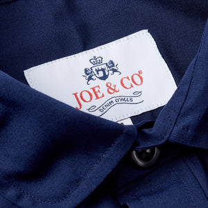 JCS-TALBOT-024  OXFORD COTTON PENNY COLLAR WORK SHIRT