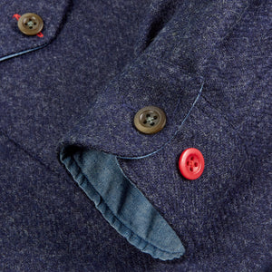 JCS-015-BAINES IV - BRITISH WOVEN WOOL OVER SHIRT