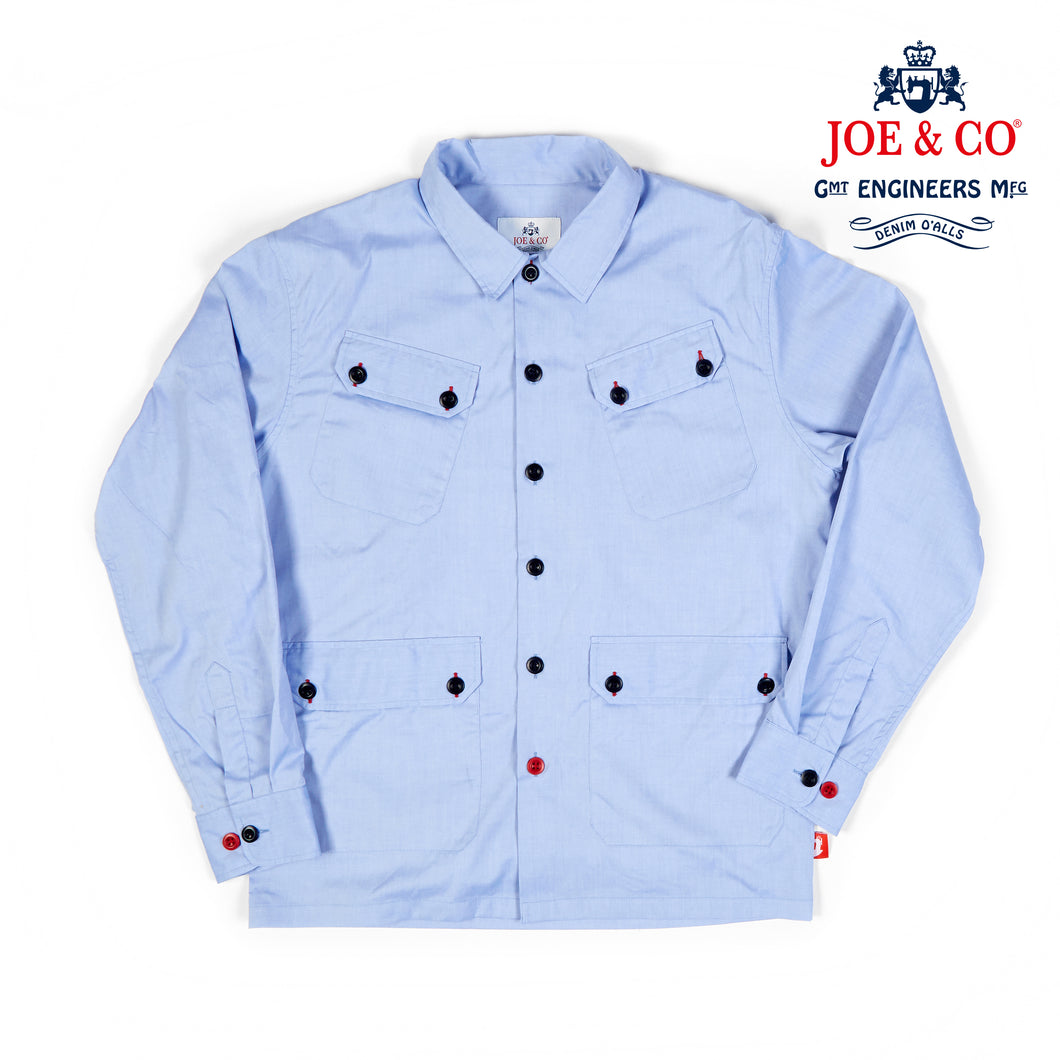 JCS-ARKWRIGHT-021 PINPOINT OXFORD OVER SHIRT