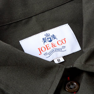JCS - PAXTON-50 JOE & CO X COTTON TWILL OVER SHIRT