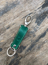 JCA-001-Veg Tanned Leather Key Fob