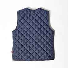 Load image into Gallery viewer, Hartley 02 navy nylon padded gilet