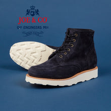 Load image into Gallery viewer, JCF-001-WILSON MOC TOE LUXURY SUEDE WORKBOOT