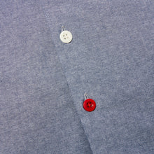 Load image into Gallery viewer, Paxton 5 light chambray and navy needle cord over shirt