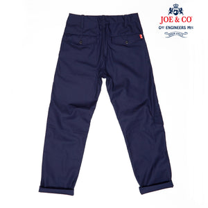 JCU-01-BADAR- COTTON TWILL UTILITY TROUSER