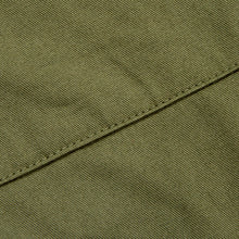 Load image into Gallery viewer, Badar 2 Military green brushed cotton twill utility trouser