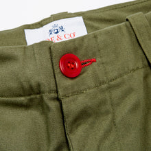 JCU-03-BADAR- BRUSHED COTTON TWILL UTILITY TROUSER