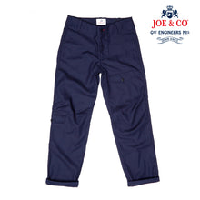 Load image into Gallery viewer, JCU-01-BADAR- COTTON TWILL UTILITY TROUSER