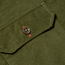 Load image into Gallery viewer, Paxton 7 Racing green moleskin over shirt