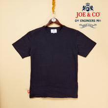 Load image into Gallery viewer, Tower 02 navy supima fine cotton t.shirt