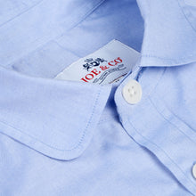 JCS-TALBOT-023 PIN POINT OXFORD PENNY COLLAR WORK SHIRT