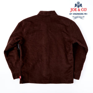 JCS- CHADWICK-51-COTTON MOLESKIN POTTERS OVER SHIRT