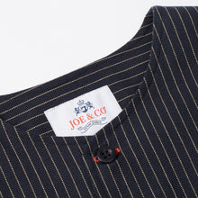 Load image into Gallery viewer, JCS-021-BAINES - HEAVY DUTY PANAMA STRIPE OVER SHIRT