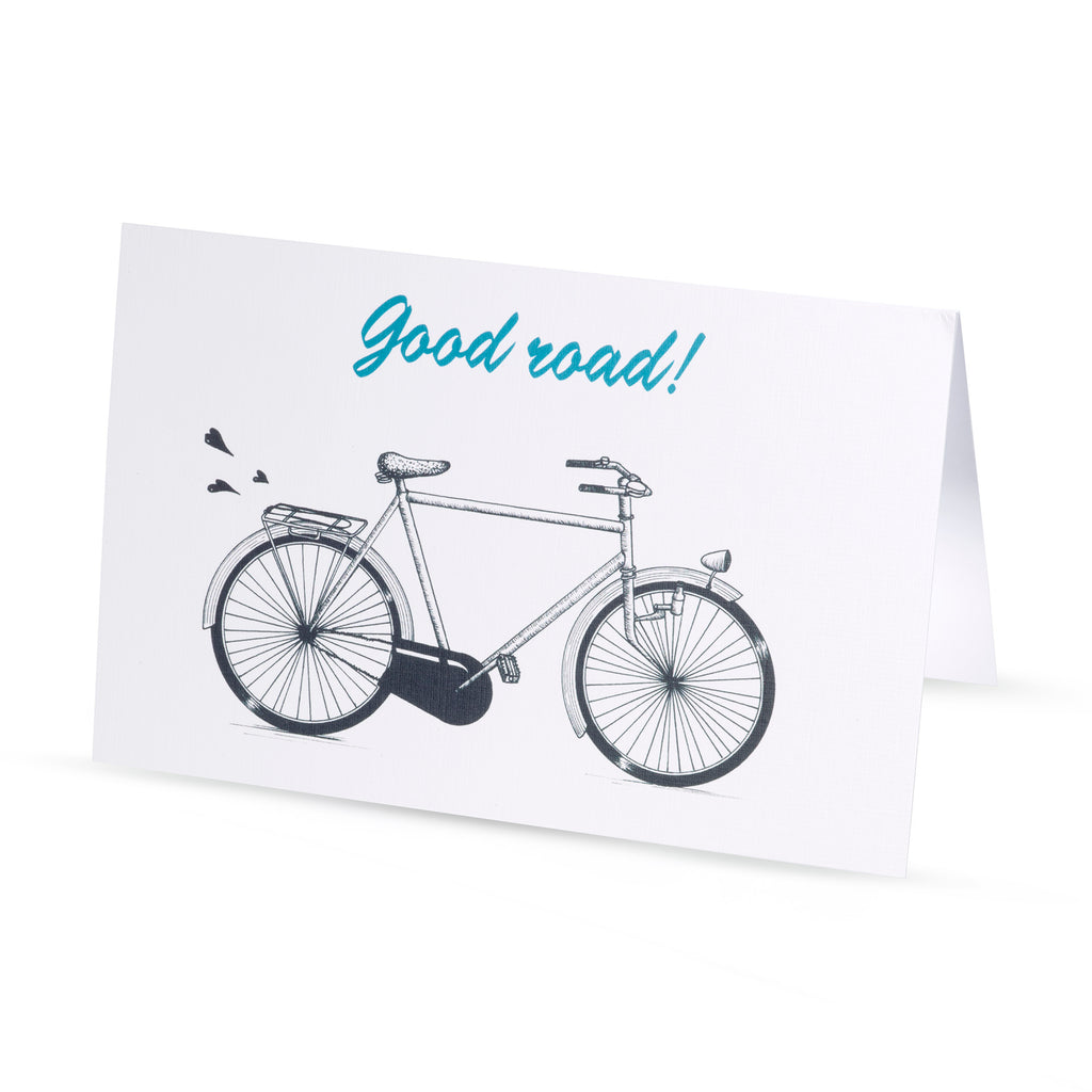 Carte de voeux BICYCLE