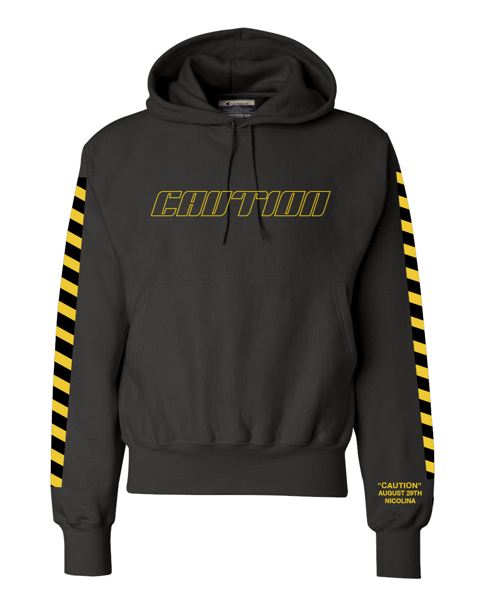 CAUTION HOODIE + DIGITAL ALBUM