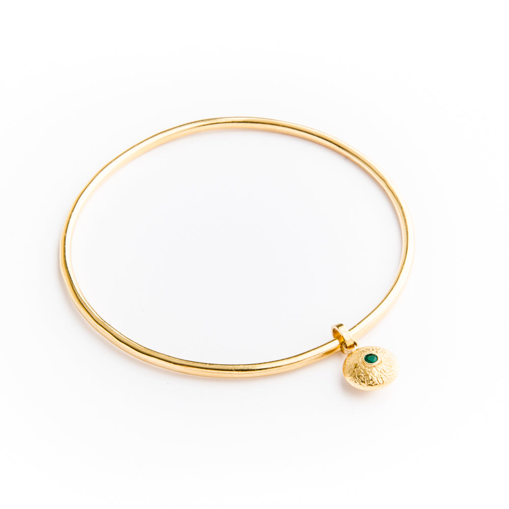 Gold Dangle Bangle