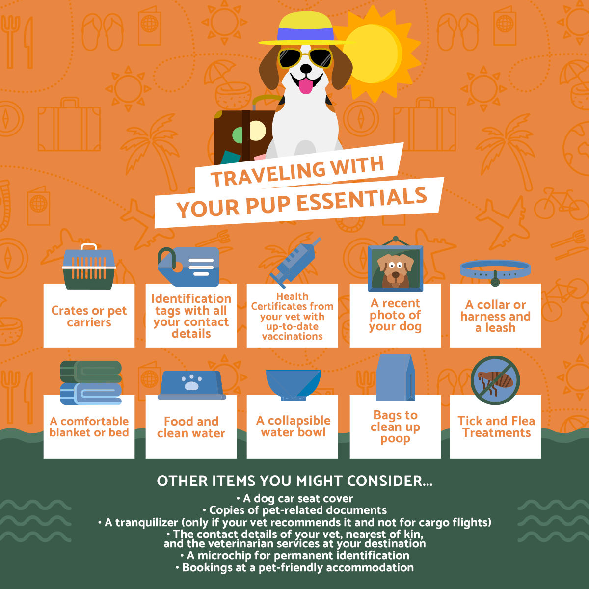 traveling with dogs checklist