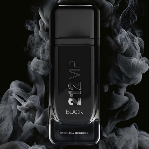 Carolina Herrera 212 Vip Black Cologne For Men 3.4 FLOZ-100ML