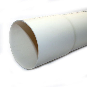 4 x 10 PVC 2729 BE Solid Pipe