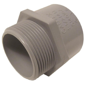 CANTEX 3/4-in Bushing Connector Schedule 40 PVC Compatible, Schedule 80 PVC Compatible, Conduit Fitting