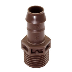 XFFMA050 - Barb Male Adapter - 17mm x 1/2 in. MPT