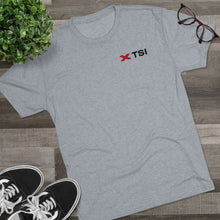 Load image into Gallery viewer, TSI Logo – Men's Tri-Blend Tee