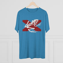 Load image into Gallery viewer, Bama Bone Frog – Men's Tri-Blend Crew Tee